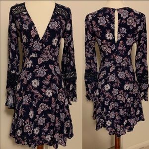 Nordstrom ASTR the label Boho Bell Sleeve Dress